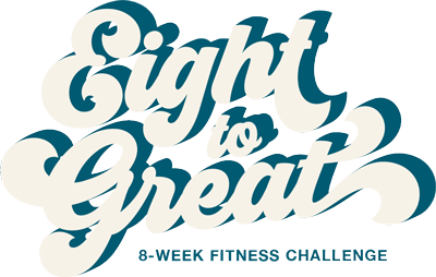 Eight To Great Eating Challenge Logo